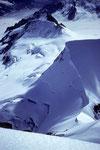 Rottalhorn 3969 m vom Gipfel der Jungfrau