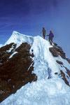 Wir Bergfreunde im Matterhorn-Gipfelglück