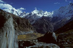 Annapurna III 7555 m und Gandarba Chuli  6248 m