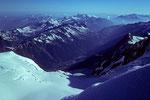 Blick auf Chamonix  1034 m