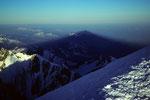 Schattenbild des Mont Blanc