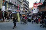 Ortsteil Thamel in Kathmandu