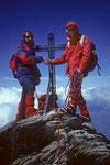 Berg Heil auf dem Nadelhorn 4327 m