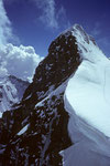 Jungfrau 4158 m  von der  Wengen-Jungfrau 4089 m