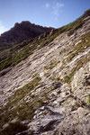 oben Glecksteinhütte 2317 m