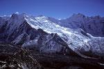 Chukung P 6205 m und P 6238 m und P 6430 m (Pema Dablam )