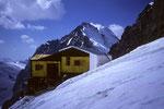 Marco e Rosa Hütte  3610m