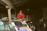 Übernachtung in Lobuche auf 4630 m, im umgebauten Viehstall