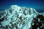 Montblanc 4807m von der Pointe  Walker 4208m
