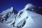 Castor & Pollux mit Abstiegsspur