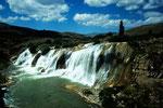 Blickpunkt Wasserfall
