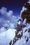 Silberhorn 3695 m von der Wengen-Jungfrau 4089 m