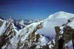Blick zum Bishorn  4153m