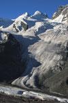 Castor & Pollux mit Grenzgletscher vom Gornergrat
