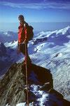 Auf dem Grossen Gendarm 4091 m