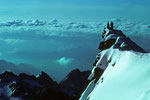 Blick nach Süden mit Gran Paradiso 4061m