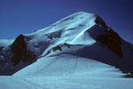 Bossesgrat und Mont Blanc  vom Dome du Gouter  4304 m