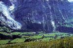 Grindelwald und Oberer Grindelwaldgletscher  vom First