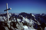 Gipfelkreuz  Barre des Écrins 4102 m