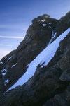 Zinalrothorn 4221 m mit Rothorngrat im Profil.