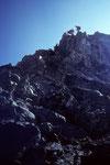 Seilschaften am Gipfel 4199 m