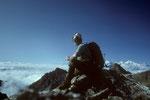 Gipfelrast auf 5144 m