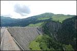 Le barrage du lac