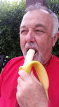 Zum Nachtisch eine Banane