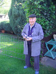 Engelbert Lütz. 84 Jahre und immer noch aktiv.