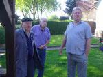 3 Freunde unter sich.E.Lütz,D.Salewski,M.Diehl.