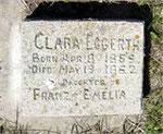 Grab Klara Eggerth Kann Cemetery Iowa