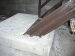 階段下の補強