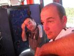 Warm war´s auf der Hinfahrt...  (Marc Weltmann + Thorsten Donner)