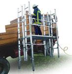 Trucksaver mit ÖNORM-Steckleitern