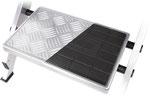 58-300 Detail: Aluminium vs. Plastic Step Coating