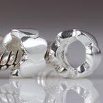 """""""6 Herzen"""" - 925er Silber Perle Herzen"""