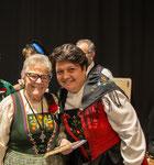 Glückwunsch von Karin Niederberger, EJV Präsidentin