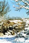 Régagnas en Hiver sous la neige