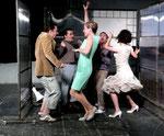 """2011 / """"Freie Sicht"""", Stadttheater Heidelberg (mit Markus Schultz-hinten links)"""