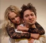 """2012/ """"Lulu"""", Frank Wedekind, als Maler Schwarz, Svetlana Wall als Lulu, Inszenierung: Thorsten Danner"""