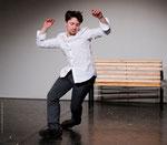 """2012 / Beim Tanzen zu : """"New York is killing me"""" von Gil Scott-Heron, Choreographie: M. Schultz, Mario Heinemann,  Photo: Wolfgang Detering"""