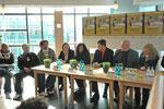 Pressekonferenz mit  Dr. Dolly Conto Obregón und Culcha Candela.