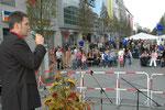 """Moderator Tom Krause """"Bankett für Millionen 2007."""""""
