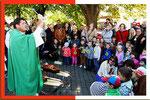 28. September  ERNTEDANKFEST mit den Kindergartenkindern