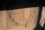 """Diese """"Kette"""" konnte leider nicht mehr erhalten werden. Es war mit zu wenig Zement abgebunden, und somit zu sandig"""