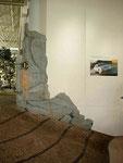 Diese dekorativen Felsen wurden für ein Autohaus gebaut und ....
