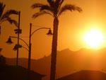 Sonnenuntergang in Olbia