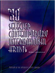 30 Selected Contemporary International Artists Cover