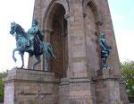 Kaiser Wilhelm und Bismarck