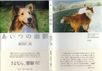 依田仁美著(短歌+写真)『あいつの面影』〔愛犬喪失の慟哭〕2000円+税